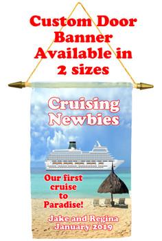 Cruise Ship Door Banner - newbies  3
