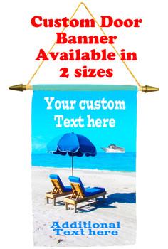 Cruise Ship Door Banner - paradise 2