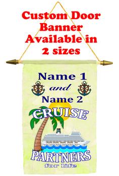 Cruise Ship Door Banner - partners