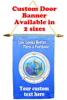 Cruise Ship Door Banner - porthole 1