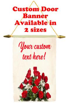 Cruise Ship Door Banner - roses 2