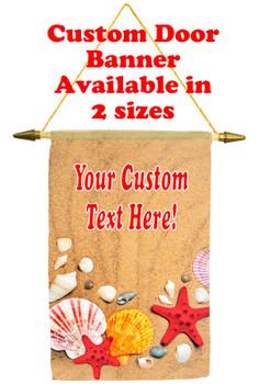 Cruise Ship Door Banner - shells