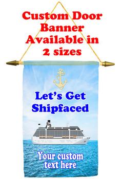 Cruise Ship Door Banner - shipfaced