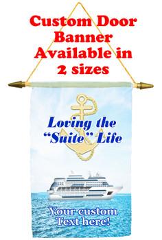 Cruise Ship Door Banner - suite life