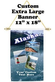 Cruise Ship Door Banner - Extra-Large Banner  (alaska 2