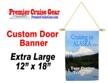 Cruise Ship Door Banner - Extra-Large Banner  (alaska 3