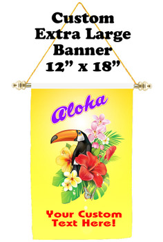 Cruise Ship Door Banner - Extra-Large Banner  Aloha