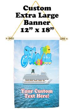 Cruise Ship Door Banner - Extra-Large Banner  Aloha 3