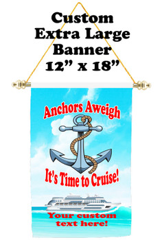 Cruise Ship Door Banner - Extra-Large Banner  Anchor 2