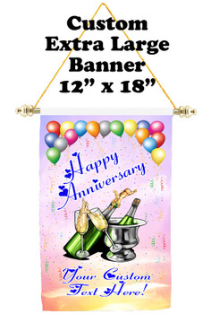 Cruise Ship Door Banner - Extra-Large Banner - Anniversary 1