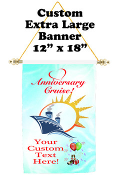 Cruise Ship Door Banner - Extra-Large Banner - Anniversary 3