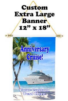 Cruise Ship Door Banner - Extra-Large Banner - Anniversary 4