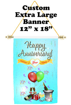 Cruise Ship Door Banner - Extra-Large Banner - Anniversary 6
