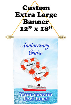 Cruise Ship Door Banner - Extra-Large Banner - Anniversary 7