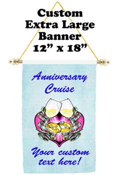 Cruise Ship Door Banner - Extra-Large Banner - Anniversary 8