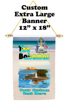 Cruise Ship Door Banner - Extra-Large Banner - Bahamas