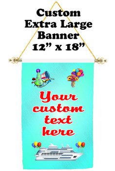 Cruise Ship Door Banner - Extra-Large Banner - Birthday 2