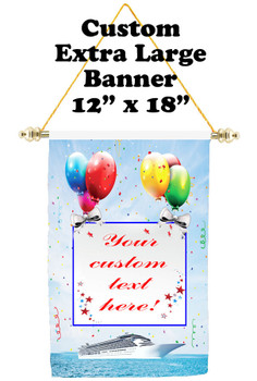 Cruise Ship Door Banner - Extra-Large Banner - Birthday 4