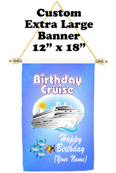Cruise Ship Door Banner - Extra-Large Banner - Birthday 5