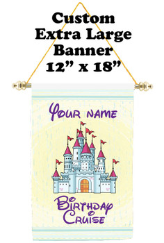 Cruise Ship Door Banner - Extra-Large Banner - Birthday 6