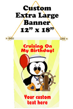 Cruise Ship Door Banner - Extra-Large Banner - Birthday 13