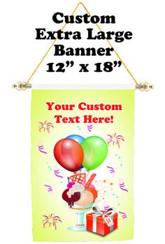 Cruise Ship Door Banner - Extra-Large Banner - Birthday Sundae