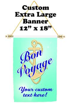 Cruise Ship Door Banner - Extra-Large Banner - Bon Voyage 1