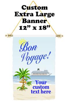 Cruise Ship Door Banner - Extra-Large Banner - Bon Voyage 3