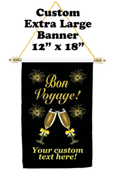 Cruise Ship Door Banner - Extra-Large Banner - Bon Voyage 4