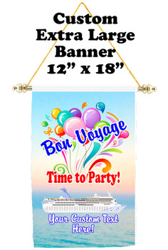Cruise Ship Door Banner - Extra-Large Banner - Bon Voyage 5