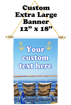 Cruise Ship Door Banner - Extra-Large Banner - Bow