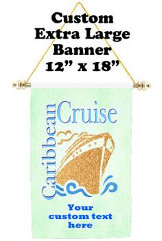 Cruise Ship Door Banner - Extra-Large Banner - Caribbean