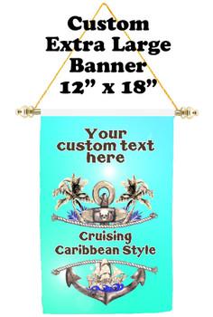 Cruise Ship Door Banner - Extra-Large Banner - Caribbean 2