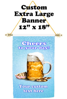 Cruise Ship Door Banner - Extra-Large Banner - Cheers 1