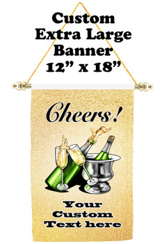 Cruise Ship Door Banner - Extra-Large Banner - Cheers 2