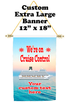 Cruise Ship Door Banner - Extra-Large Banner - Cruise Control 1