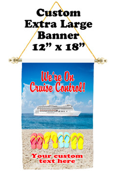 Cruise Ship Door Banner - Extra-Large Banner - Cruise Control 2