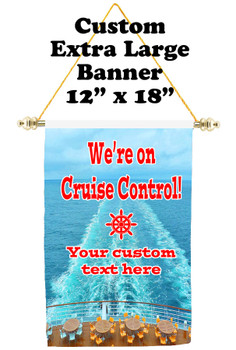 Cruise Ship Door Banner - Extra-Large Banner - Cruise Control 4