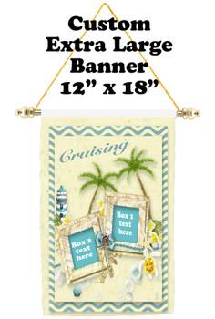 Cruise Ship Door Banner - Extra-Large Banner - Cruising 1