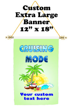 Cruise Ship Door Banner - Extra-Large Banner - Cruising Mode