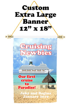 Cruise Ship Door Banner - Extra-Large Banner - Cruising Newbies