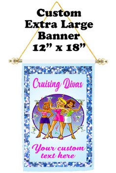 Cruise Ship Door Banner - Extra-Large Banner - Diva 1