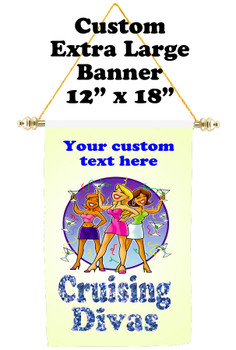 Cruise Ship Door Banner - Extra-Large Banner - Diva 2