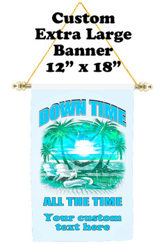 Cruise Ship Door Banner - Extra-Large Banner -Down Time