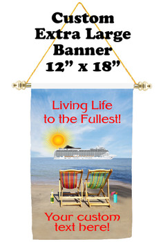 Cruise Ship Door Banner - Extra-Large Banner - Fullest 2