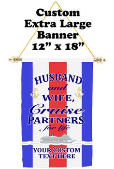 Cruise Ship Door Banner - Extra-Large Banner - RWB