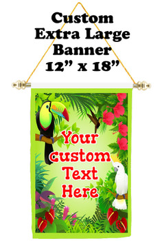 Cruise Ship Door Banner - Extra-Large Banner - Jungle