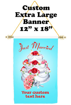 Cruise Ship Door Banner - Extra-Large Banner - Just Married