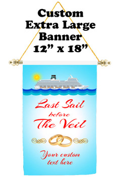 Cruise Ship Door Banner - Extra-Large Banner - Last Sail
