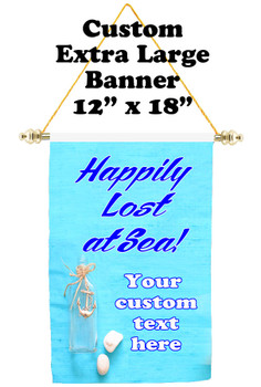 Cruise Ship Door Banner - Extra-Large Banner - Lost at Sea